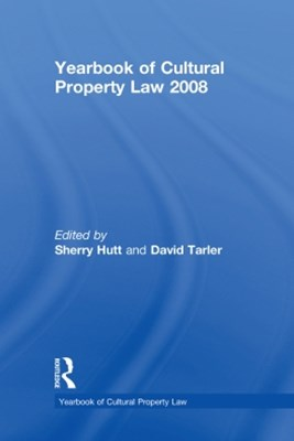 (ebook) Yearbook of Cultural Property Law 2008