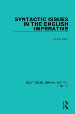 (ebook) Syntactic Issues in the English Imperative
