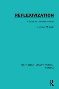(ebook) Reflexivization - Language