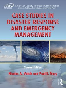(ebook) Case Studies in Disaster Response and Emergency Management - Politics Political Issues