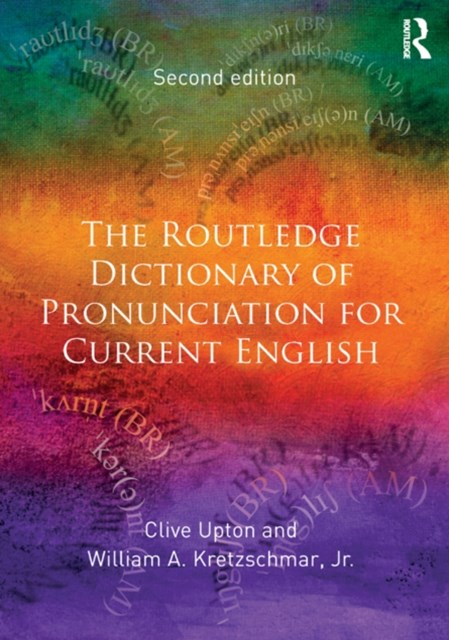 (ebook) The Routledge Dictionary of Pronunciation for Current English