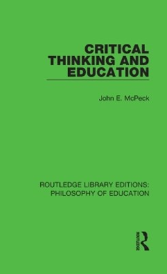 (ebook) Critical Thinking and Education