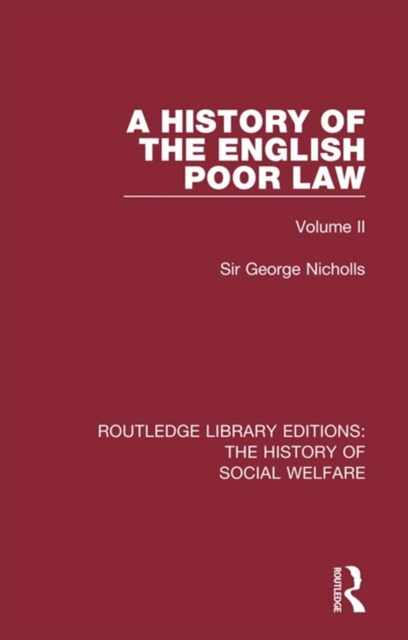 (ebook) History of the English Poor Law