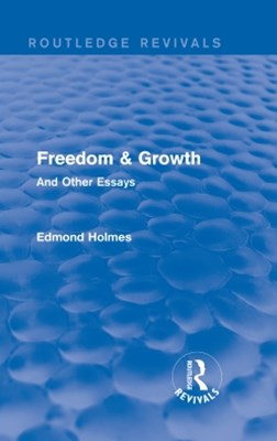 (ebook) Freedom & Growth (Routledge Revivals)