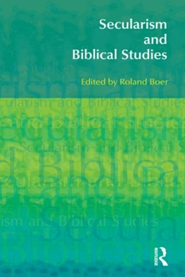 Secularism and Biblical Studies
