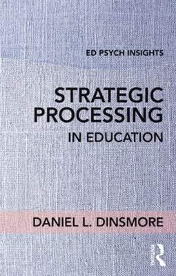 (ebook) Strategic Processing in Education