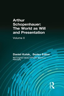 (ebook) Arthur Schopenhauer: The World as Will and Presentation - Philosophy Modern