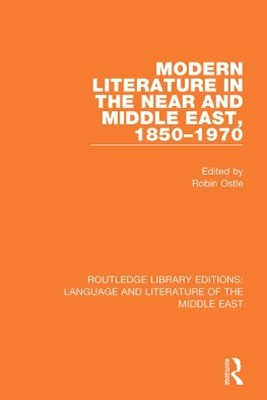 (ebook) Modern Literature in the Near and Middle East, 1850-1970