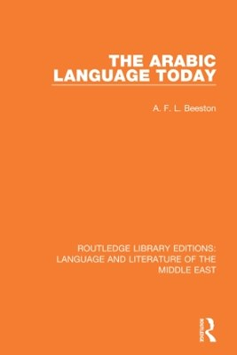 (ebook) The Arabic Language Today