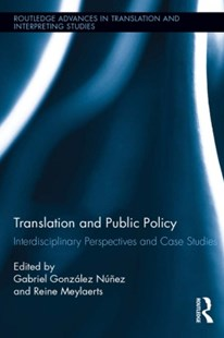 (ebook) Translation and Public Policy - Language English