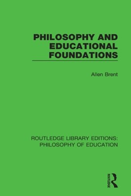 Philosophy and Educational Foundations