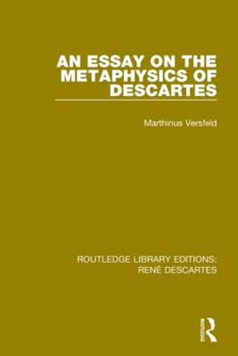 (ebook) An Essay on the Metaphysics of Descartes