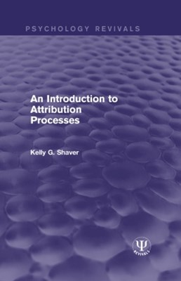 An Introduction to Attribution Processes