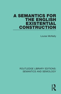 (ebook) A Semantics for the English Existential Construction - Language