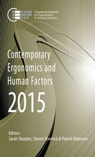 (ebook) Contemporary Ergonomics and Human Factors 2015 - Science & Technology Engineering