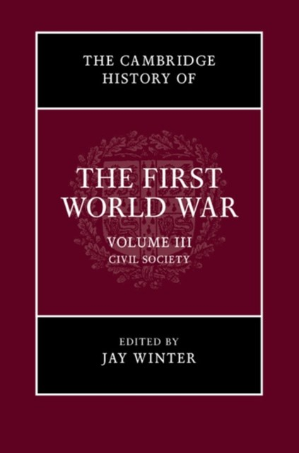 Cambridge History of the First World War: Volume 3, Civil Society