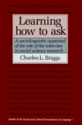 Learning How to Ask