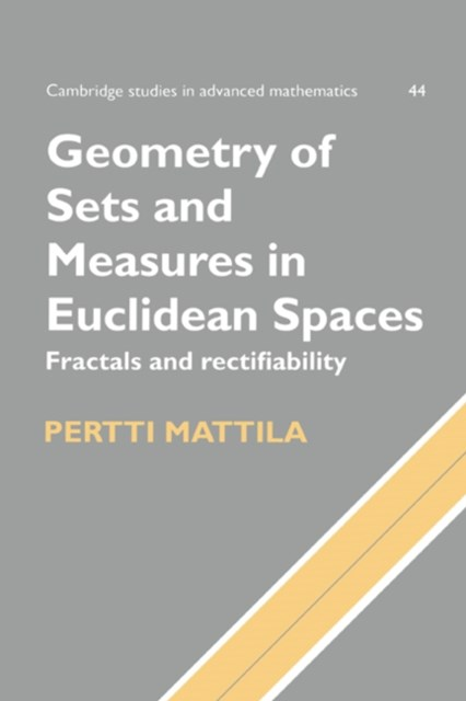 Geometry of Sets and Measures in Euclidean Spaces