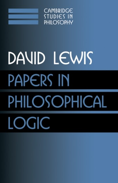Papers in Philosophical Logic: Volume 1