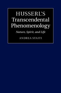 (ebook) Husserl's Transcendental Phenomenology - Philosophy Modern