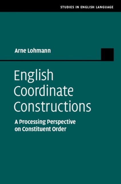 (ebook) English Coordinate Constructions