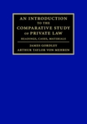 (ebook) Introduction to the Comparative Study of Private Law