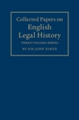 Collected Papers on English Legal History