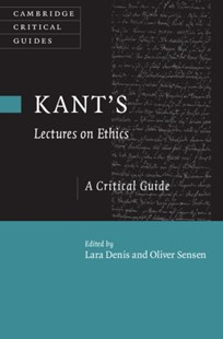 (ebook) Kant's Lectures on Ethics - Philosophy Modern
