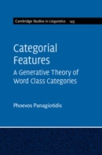 (ebook) Categorial Features - Reference
