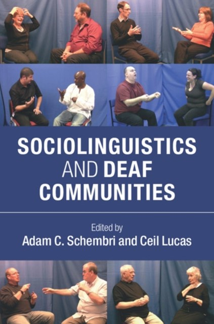 (ebook) Sociolinguistics and Deaf Communities