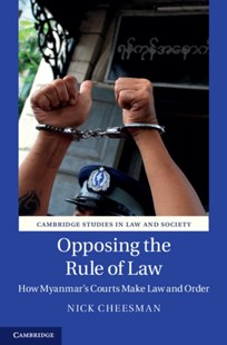 (ebook) Opposing the Rule of Law - History Asia