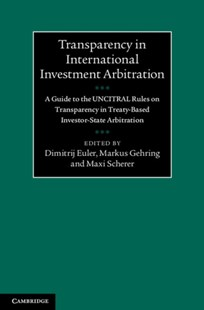 (ebook) Transparency in International Investment Arbitration - Reference Law