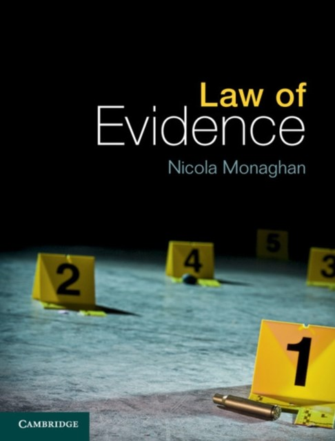 (ebook) Law of Evidence