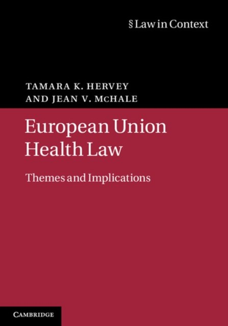 (ebook) European Union Health Law