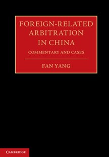 (ebook) Foreign-Related Arbitration in China - Reference Law