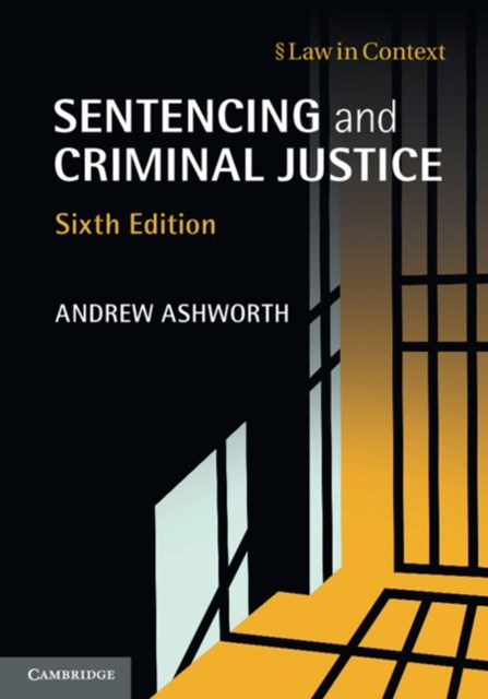 (ebook) Sentencing and Criminal Justice