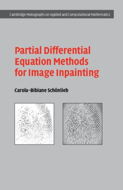 (ebook) Partial Differential Equation Methods for Image Inpainting