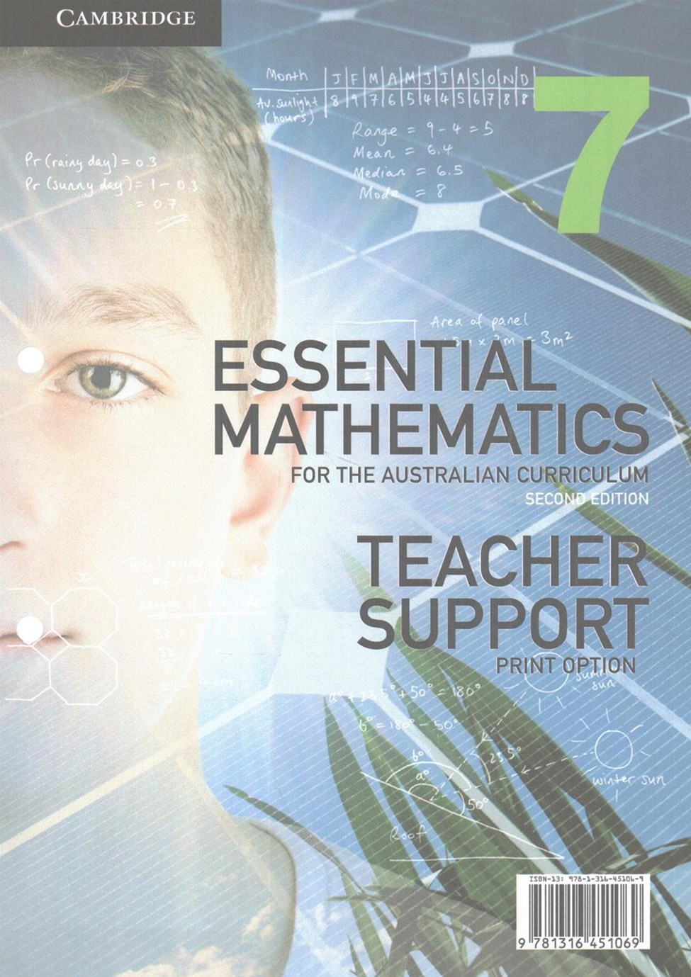 Essential Mathematics for the Australian Curriculum Year 7 2ed Teacher Support Print Option