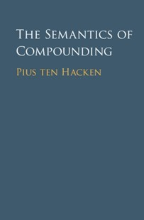 (ebook) Semantics of Compounding - Reference