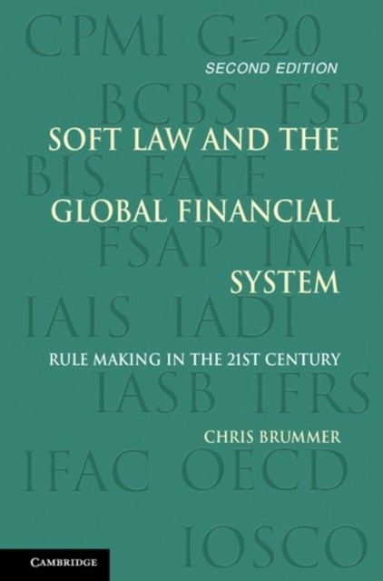 (ebook) Soft Law and the Global Financial System