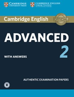 Cambridge English Advanced 2 Student's Book with answers and Audio by  (9781316504499) - PaperBack - Education IELT & ESL