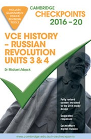 Cambridge Checkpoints VCE History - Russian Revolution 2016 and Quiz Me More