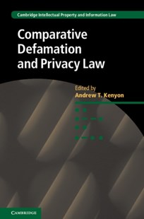 (ebook) Comparative Defamation and Privacy Law - Reference Law