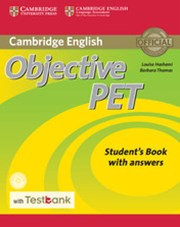 Objective PET Student's Book with Answers with CD-ROM with Testbank