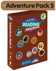 Cambridge Reading Adventures Purple, Gold and White Bands Adventure Pack 5 with Parents Guide