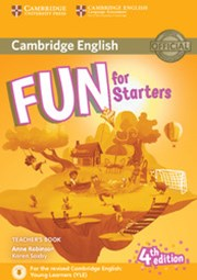 Fun for Starters Teacher's Book with Downloadable Audio