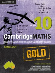 Cambridge Mathematics GOLD NSW Syllabus for the Australian Curriculum Year 10 Pack and Hotmaths