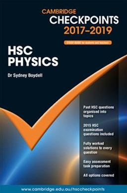 Cambridge Checkpoints HSC Physics 2017-19
