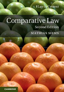 Comparative Law 2ED by Mathias Siems (9781316633557) - PaperBack - Reference Law
