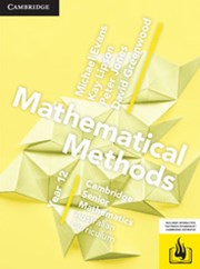 CSM AC Mathematical Methods Year 12 Print Bundle (Textbook and Hotmaths)